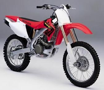 Honda Crf 450 R 2001 02 Enduro Honda Crf 450 R 2001 02